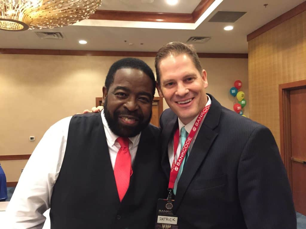 Patrick with Les Brown